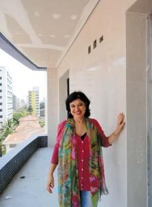 Arquiteta Claudia Viana: espaços estão sendo preparados