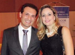 Gustavo Fernandez e esposa Kelly: novo presidente da Assecob