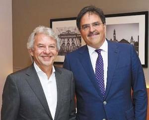 Marcelo Conde e Alexandre Solleiro: parceria na capital