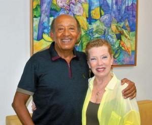 Marivaldo Pimentel e esposa Tania Mara Pimentel