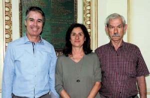 Ramón Crego, Lúcia Roma e Lupércio Conde