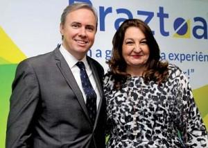 Frederico Levy e Magda Nassar