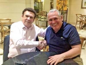 Campos Machado e Sidney Oliveira: filiação de peso